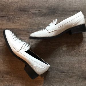 SAM EDELMAN - Never Worn - White Stud Loafers